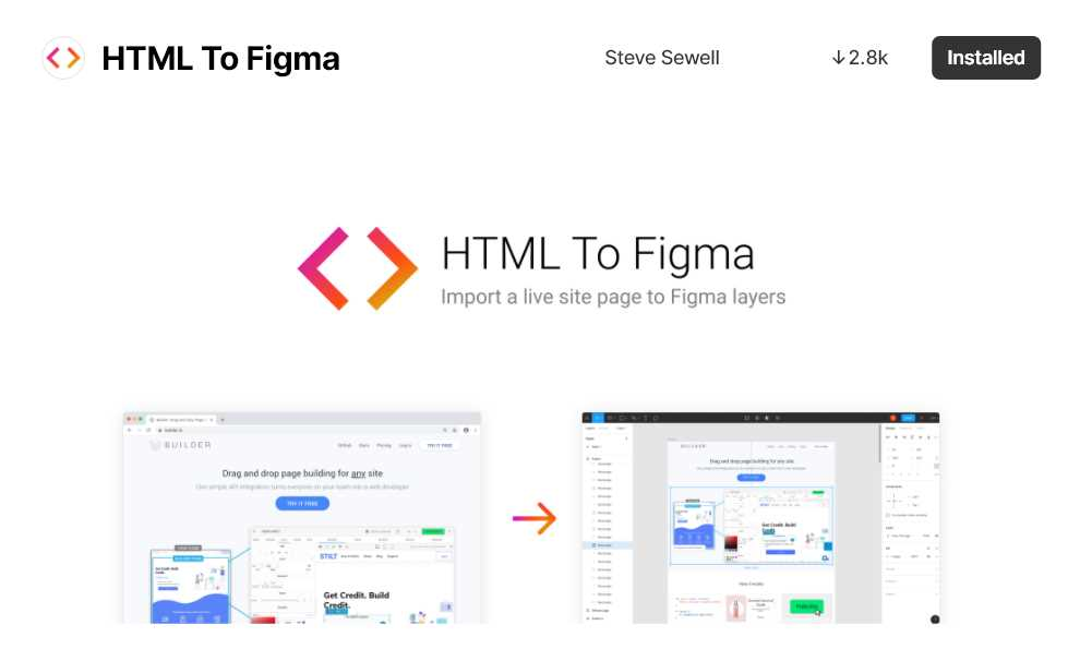 pagina do plugin html to figma